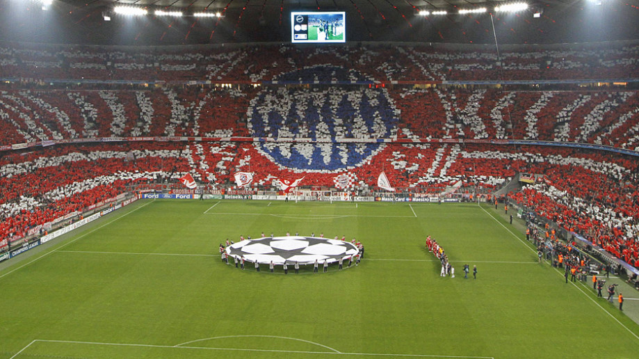 coreografia Bayern Monaco
