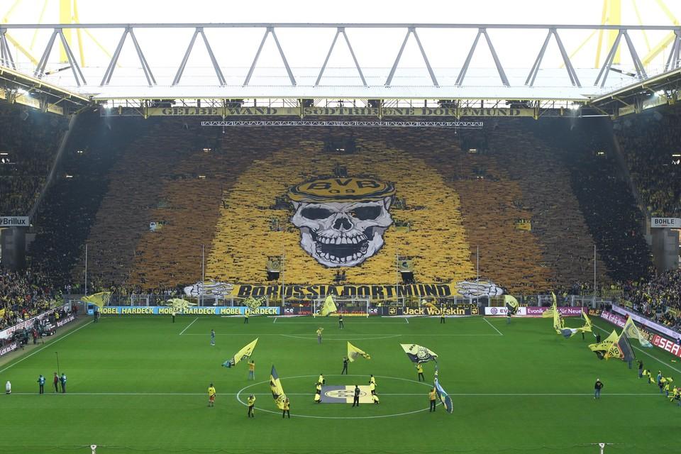 coreografia Borussia Dortmund