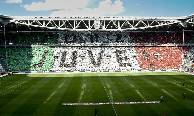 coreografia Juventus stadium