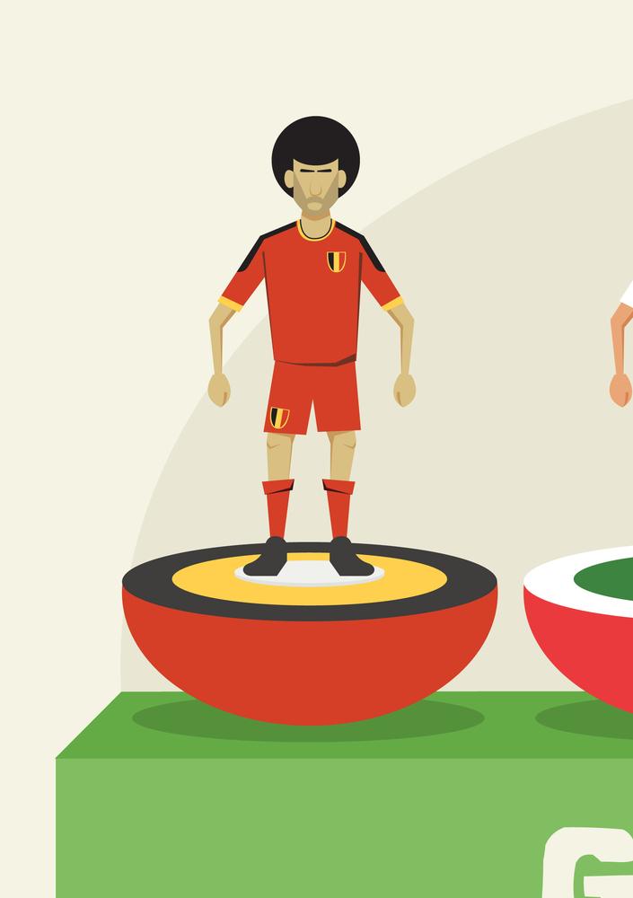 fellaini subbuteo world cup
