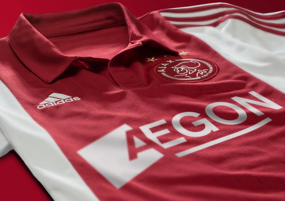 le nuove divise dell'Ajax