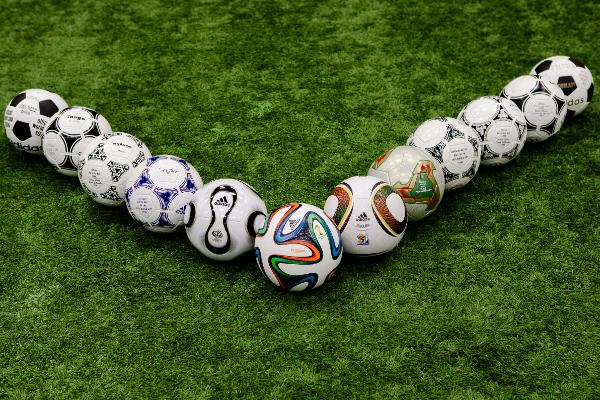 tutti i palloni da calcio adidas dei Mondiali FIFA