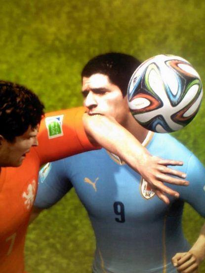 Luis Suarez a FIFA 15
