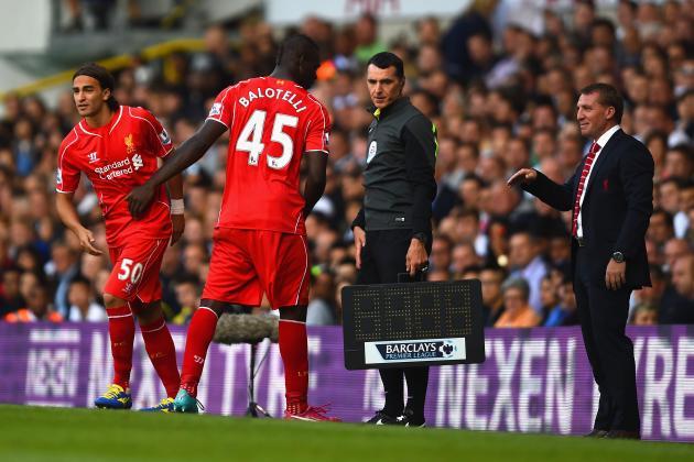 Mario Balotelli al Liverpool