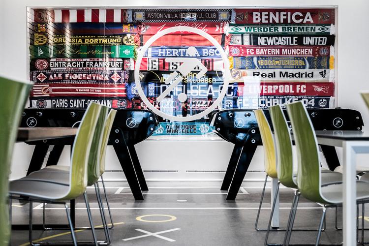 L ufficio di Onefootball a Berlino