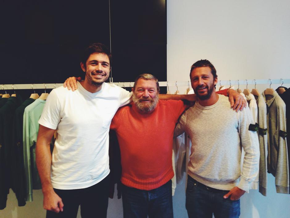 Silvio, Carlo e Matteo Rivetti.