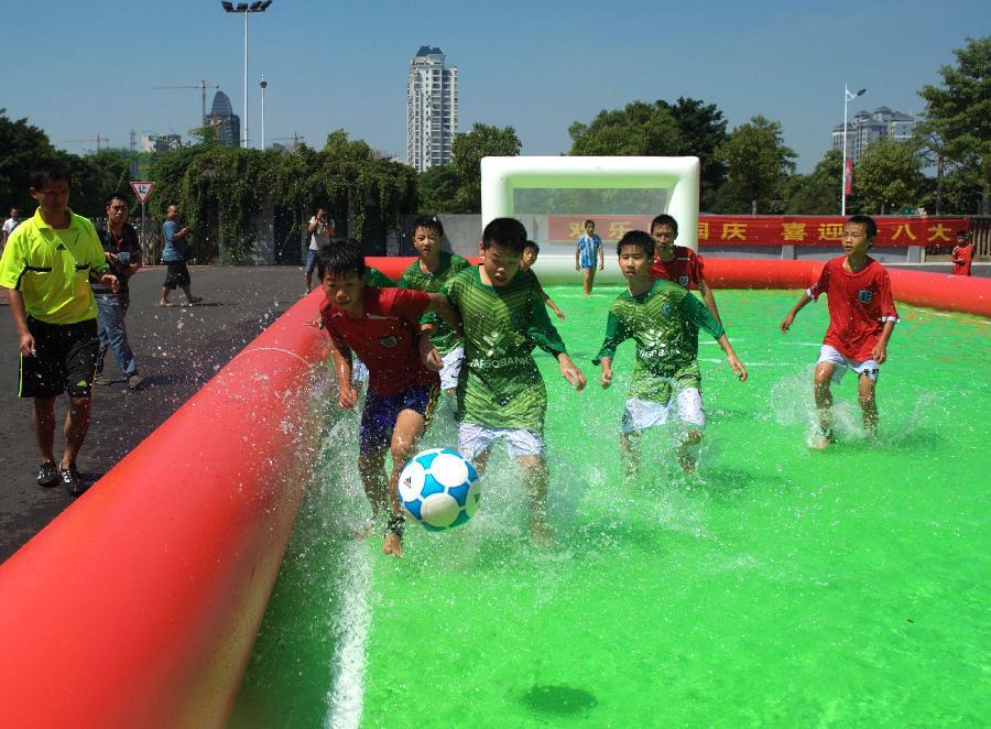 water football