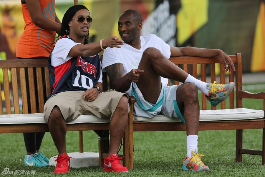 Kobe Bryant e Ronaldinho