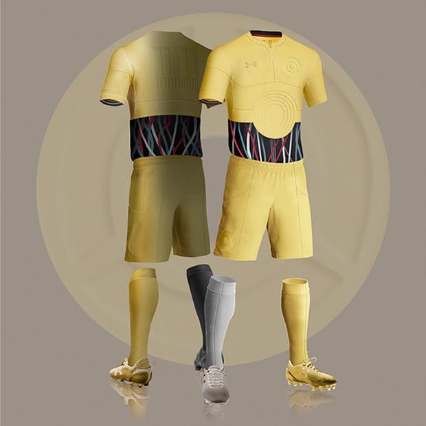 kit da calcio di star wars