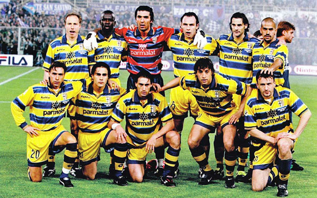 Il rendering di un ipotetico fortissimo Parma del #futuro.