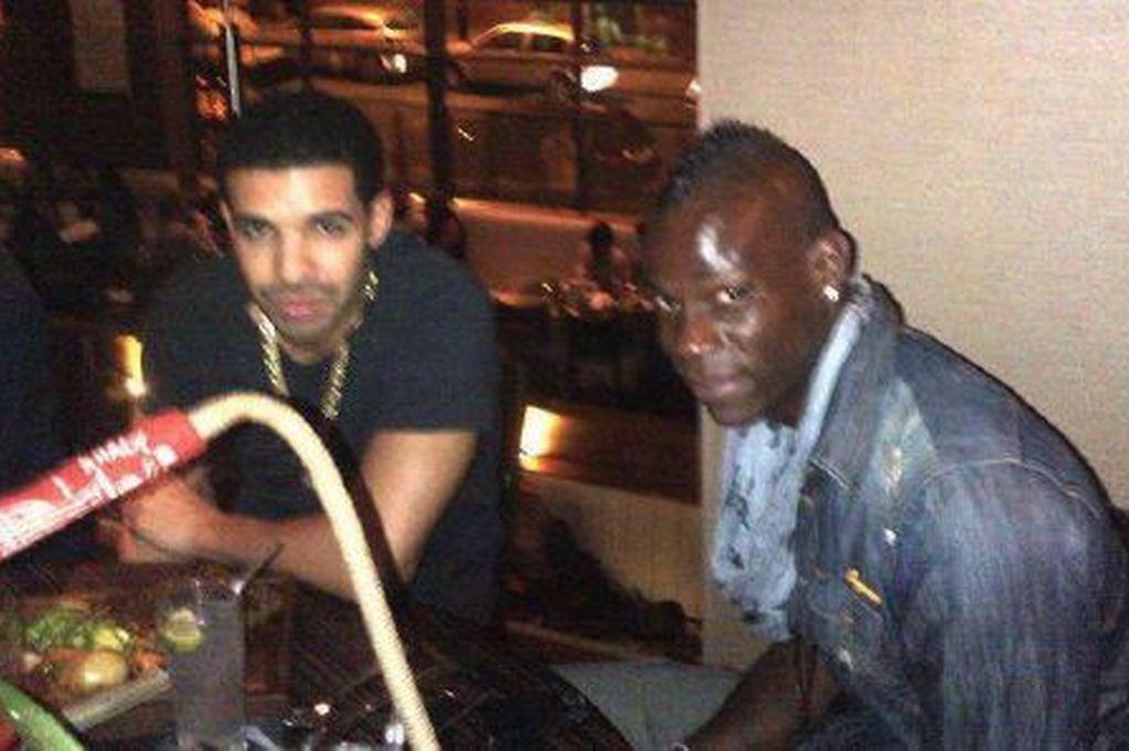 Drake e Balotelli