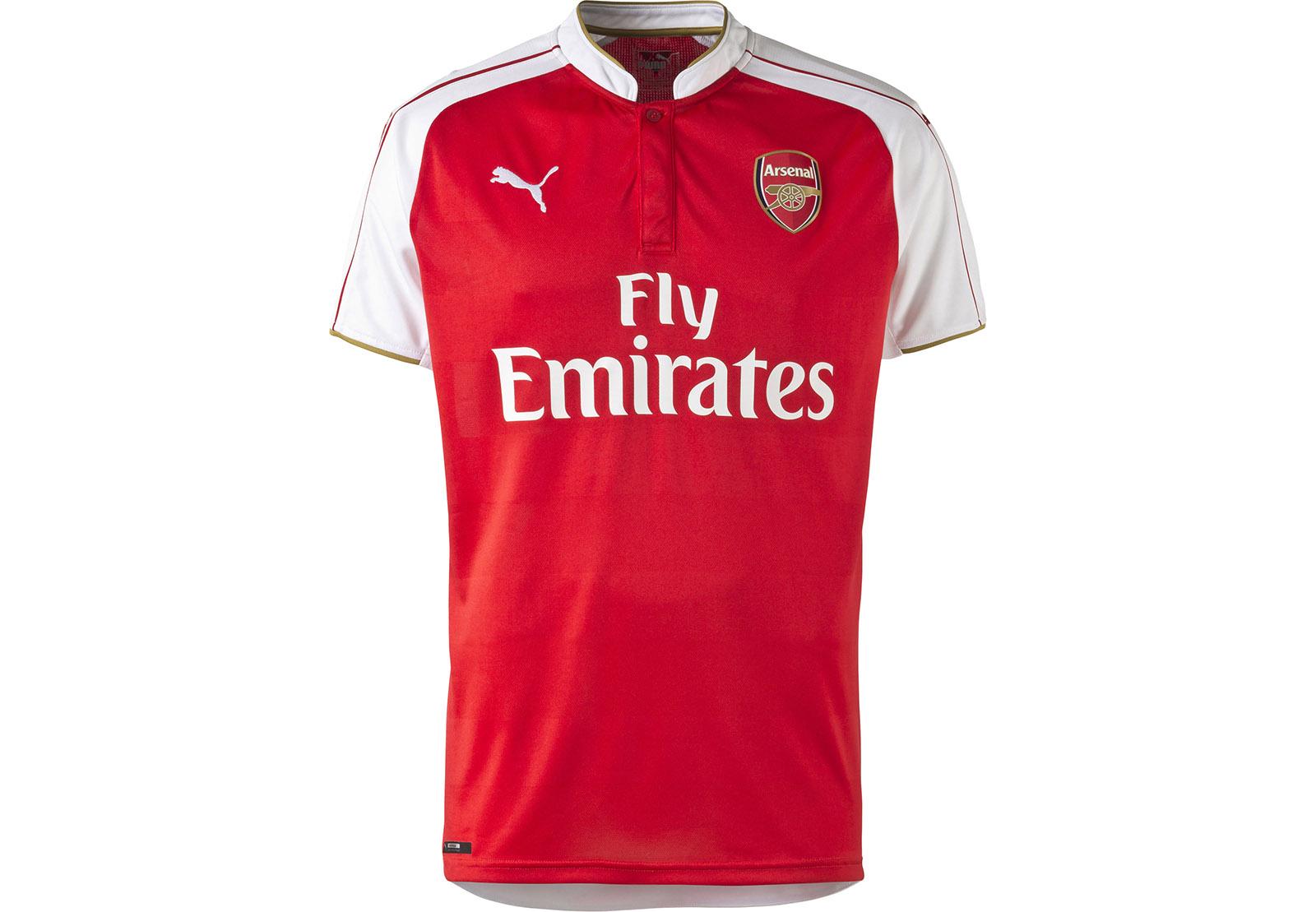 PUMA 2015-16 Arsenal#BDEA5B