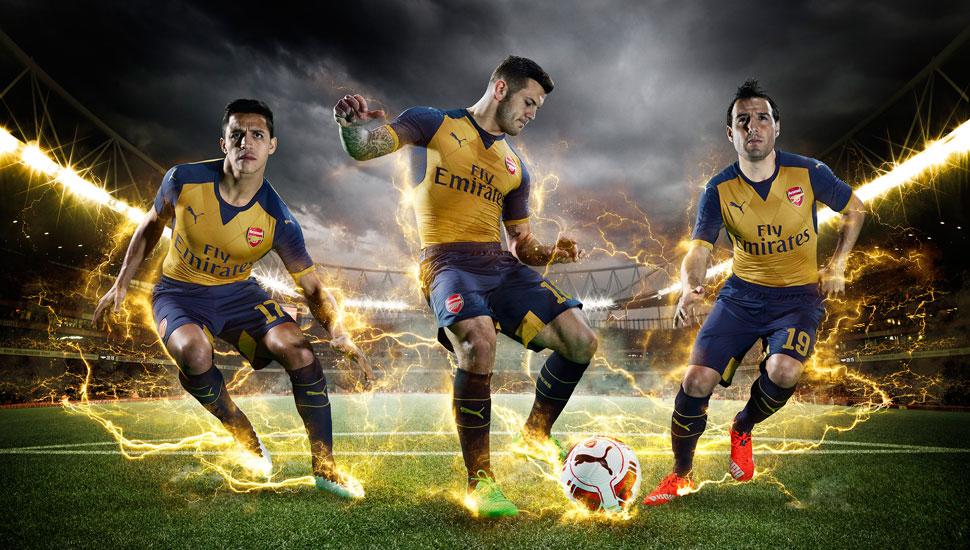 arsenal away 2015