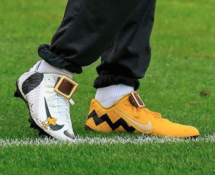 official photos b9c06 8607e Odell Beckham Jr. e le scarpe dei Peanuts - Marte