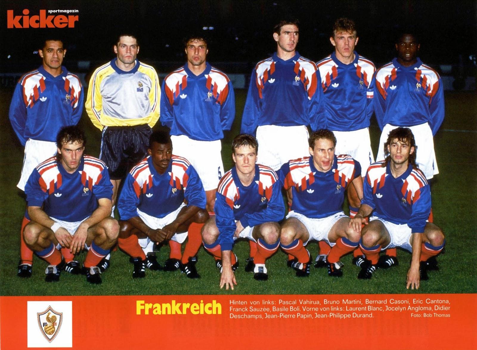 France 1990.10.13.Paris,France.ECQ-France v Czechoslovakia 2-1 Big1