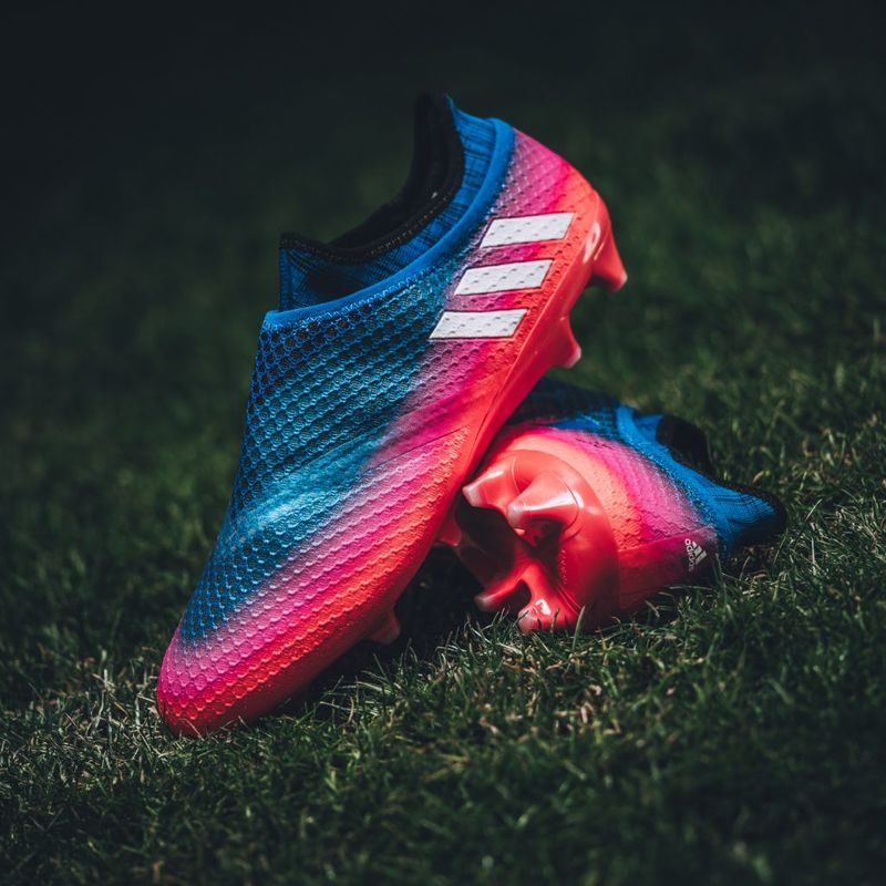 adidas Football X16 e MESSI16 Blue Blast