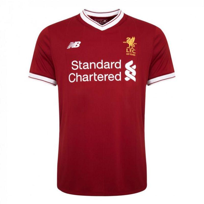 New Balance presenta la maglia 2017/18 del Liverpool