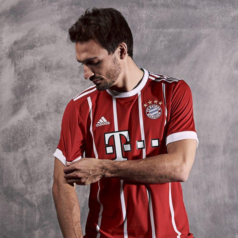 adidas presenta la maglia 2017/18 del Bayern