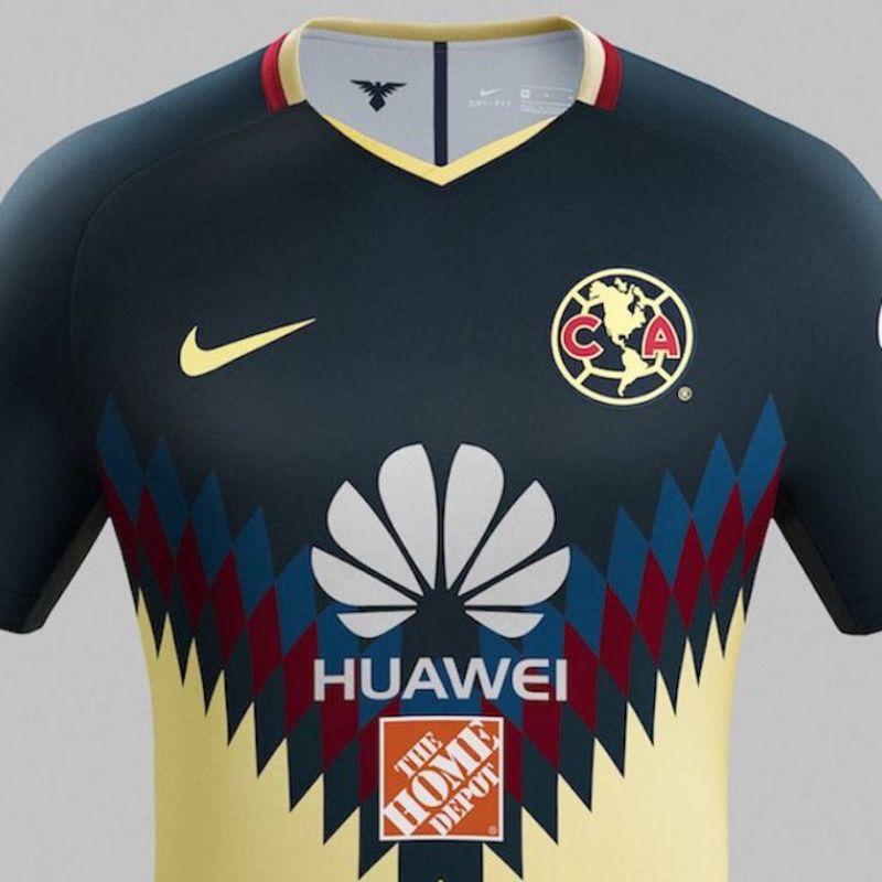 La maglia Nike 2017/18 del Club America