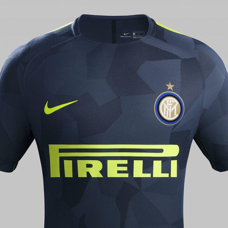 Il terzo kit Nike 2017/18 dell'Inter