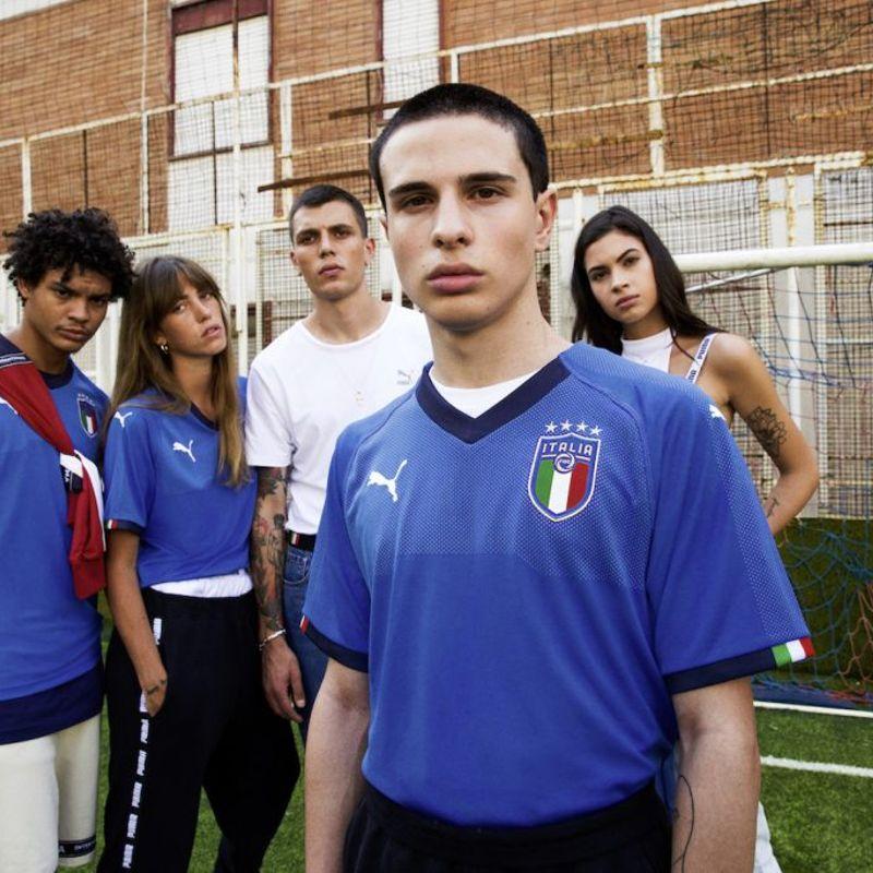 PUMA presenta la nuova maglia della Nazionale