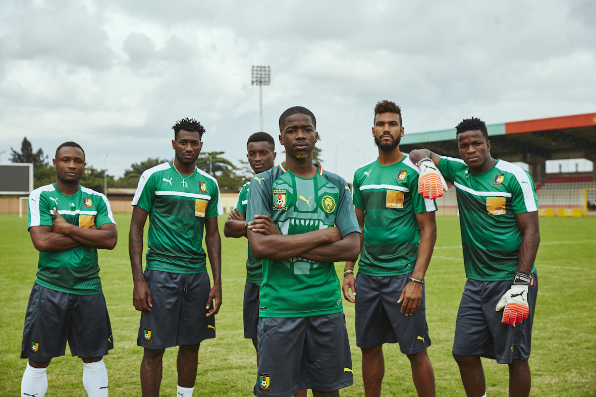 MHD and Cameroon squad 1