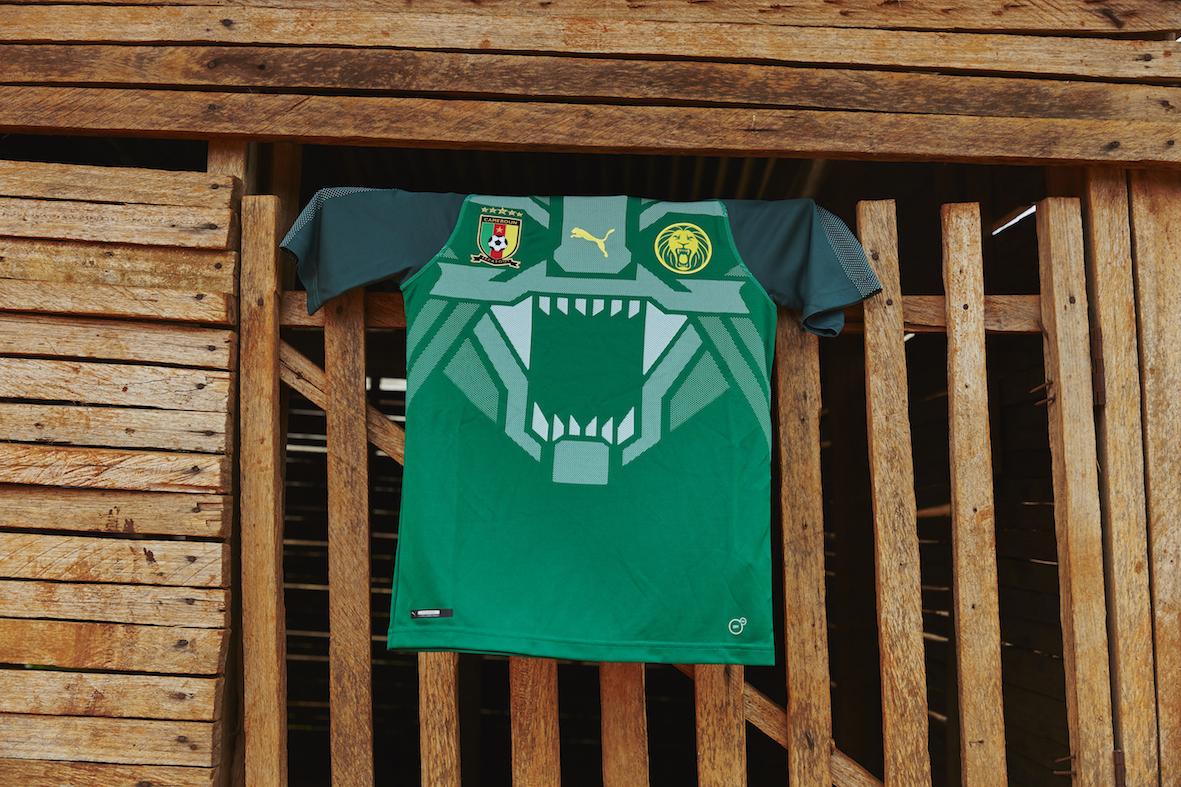 puma Cameroon jersey 3