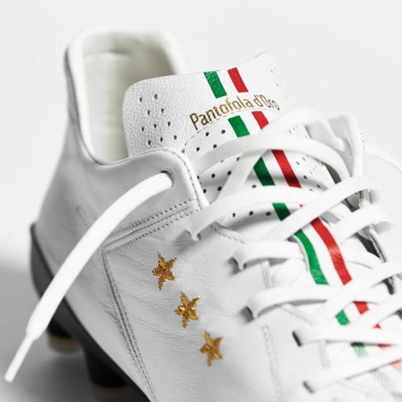 Pantofola d'Oro Superleggera bianca