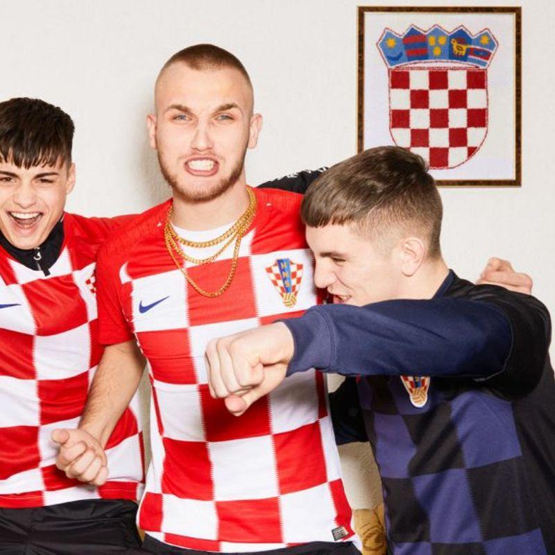 I kit Nike 2018 della Croazia