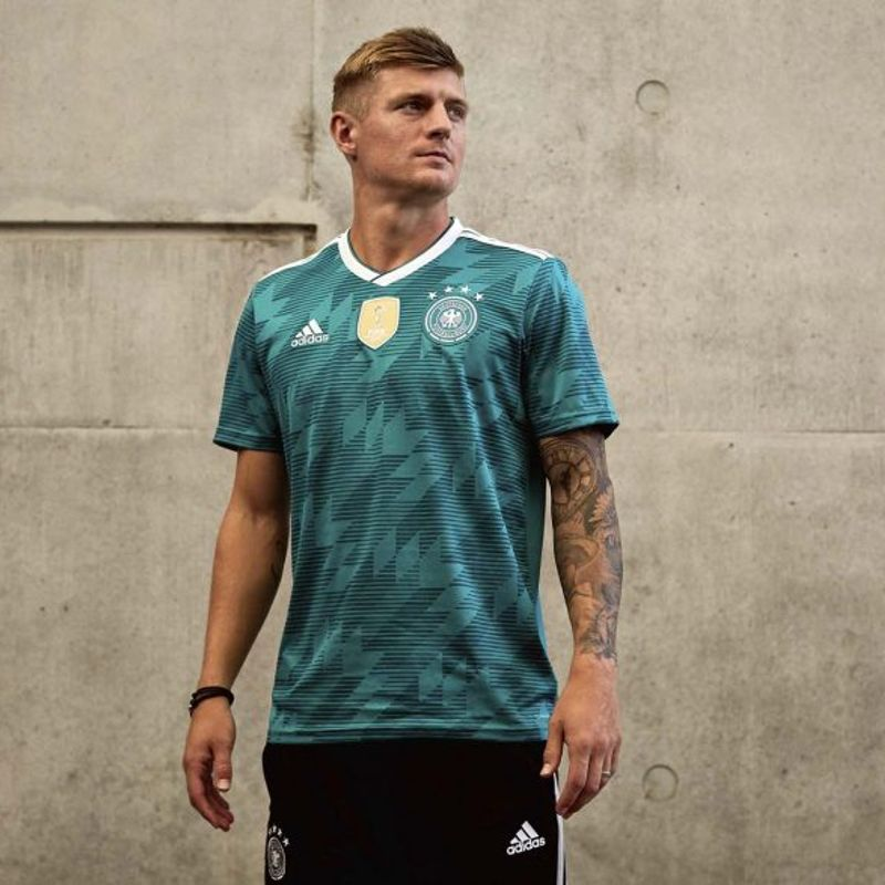 Le maglie away adidas per i Mondiali 2018