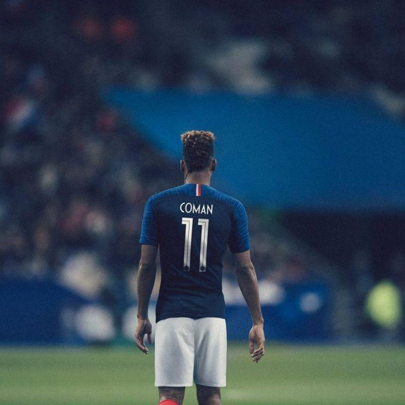 Il kit home Nike 2018 della Francia