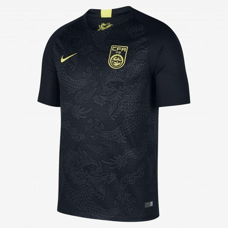 La maglia away Nike 2018/19 della Cina