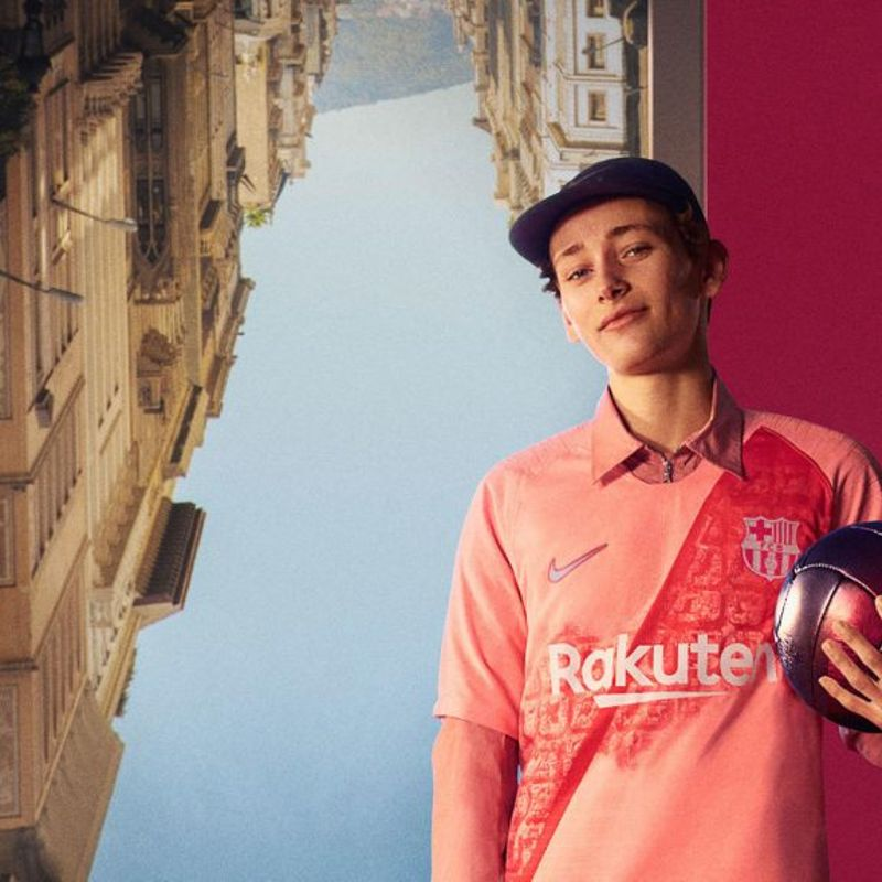 Il terzo kit Nike 2018/19 del Barcellona