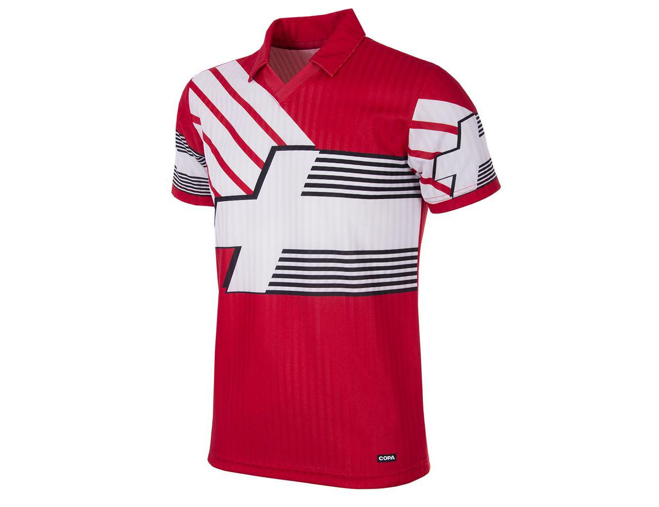 Switzerland-1990-92-Short-Sleeve-Retro-Football-Shirt-4076