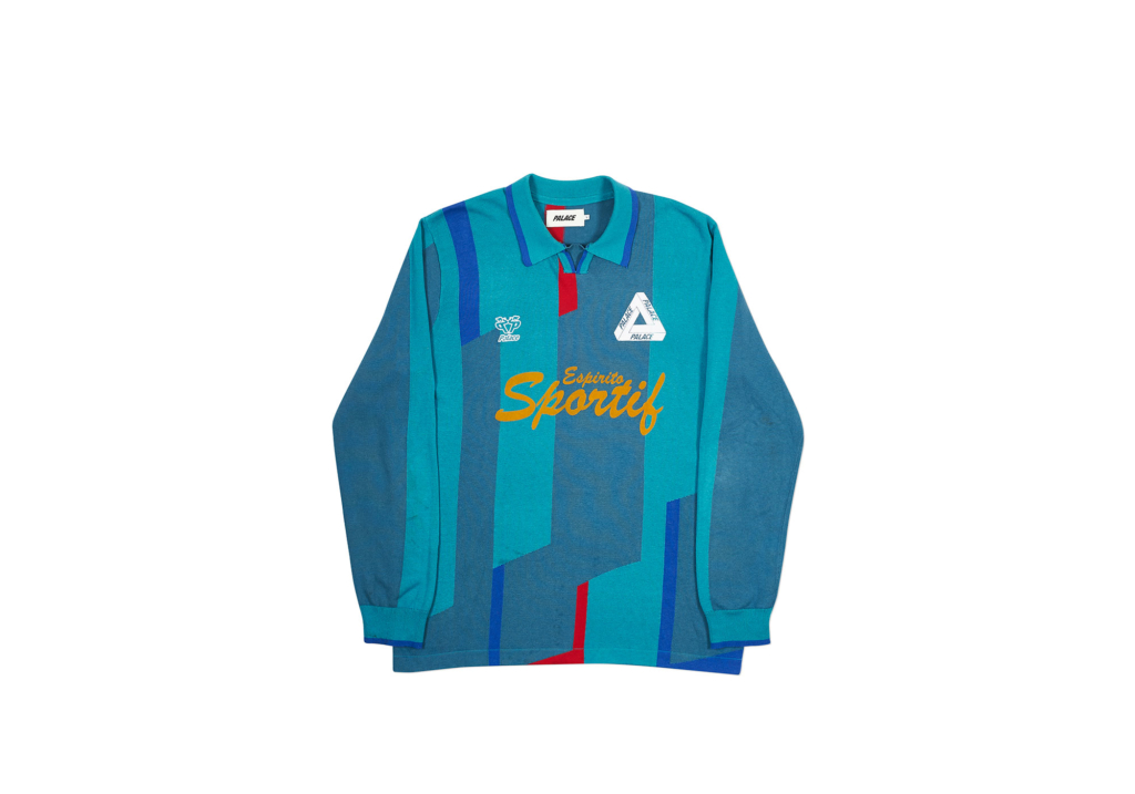 Palace-2018-Autumn-Long-Sleeve-Polo-Sportif-blue-front-7521-1024x717