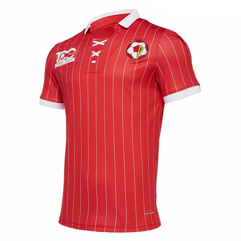 La maglia centenario del Piacenza Calcio