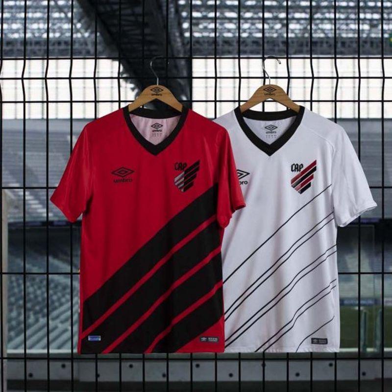 Le nuove maglie Umbro dell'Athletico Paranaense