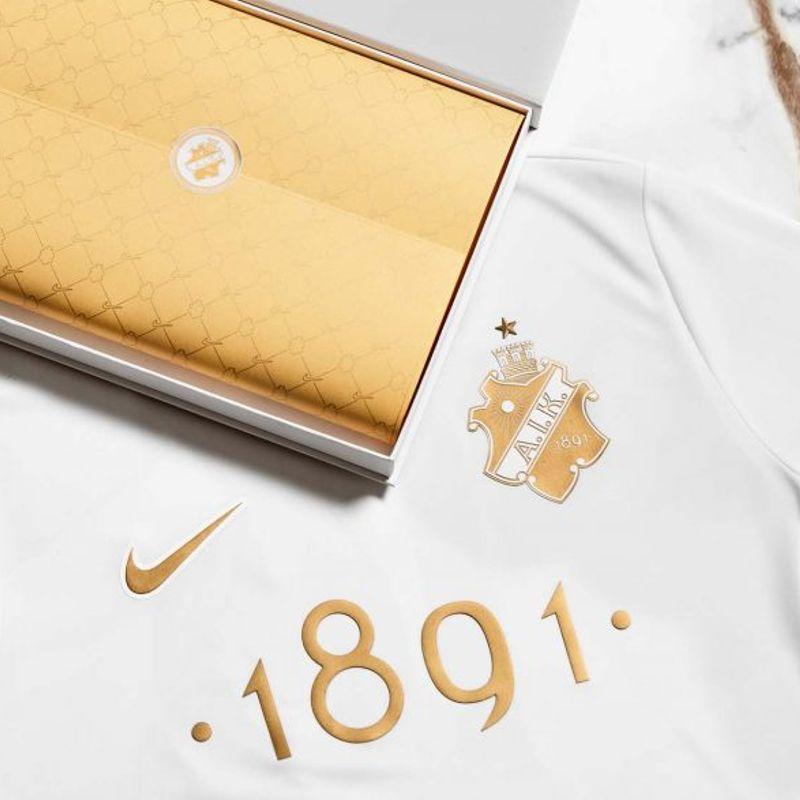 Guarda la nuova maglia fashion dell'AIK 1891