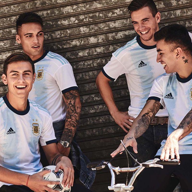 La maglia dell'Argentina per la Copa America 2019