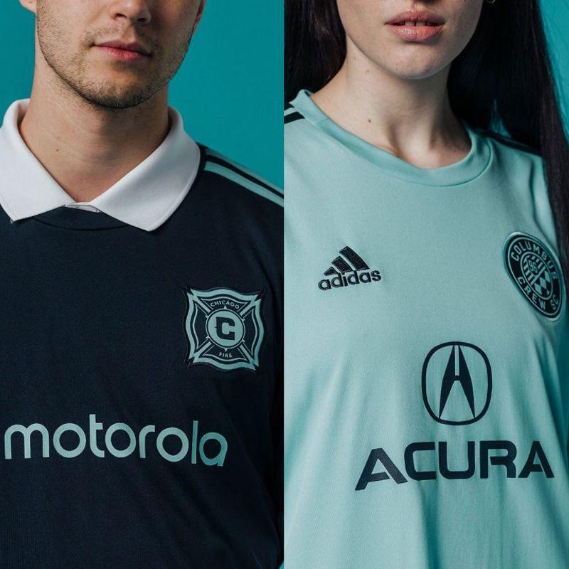 Le maglie speciali di MLS fatte di plastica riciclata
