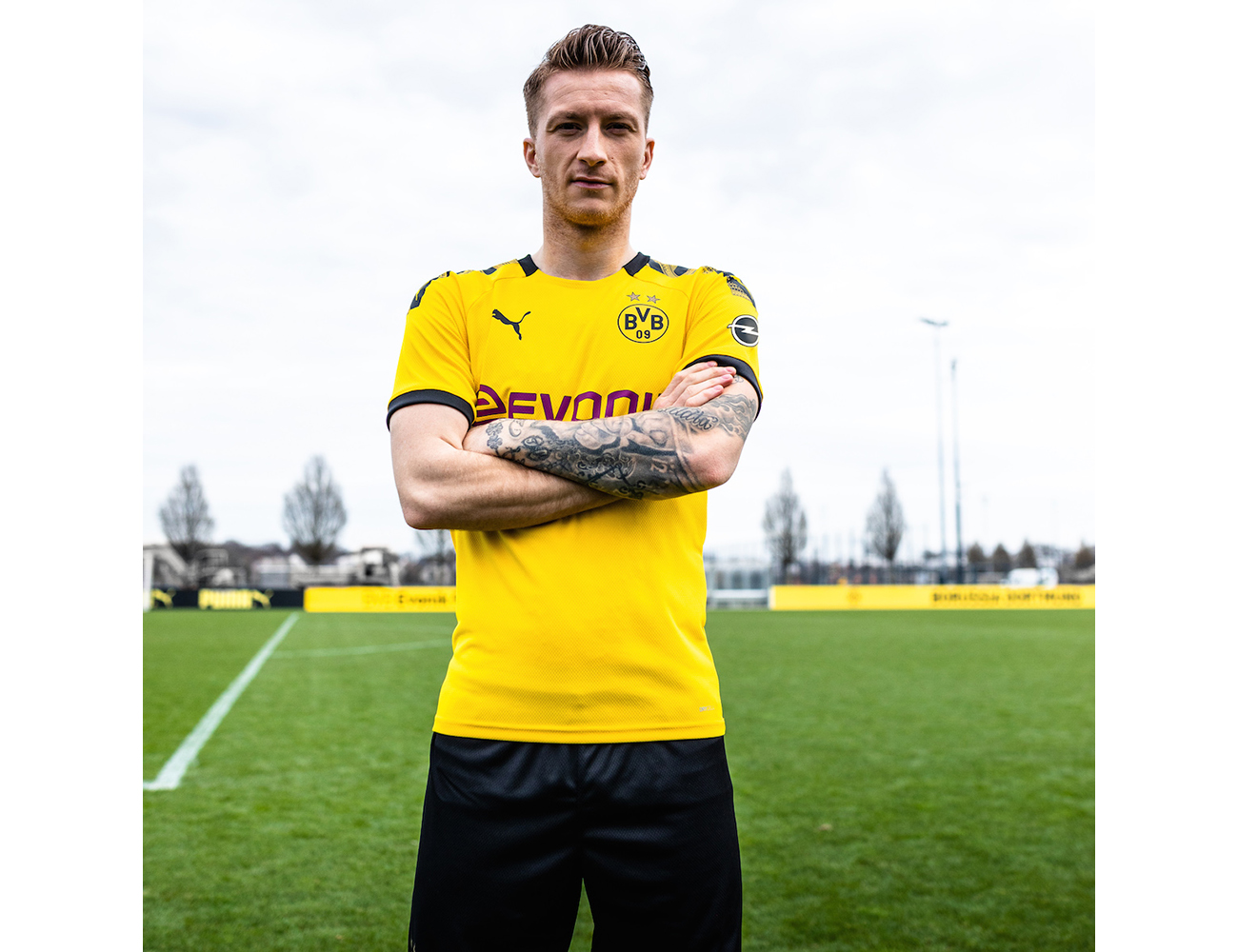 PUMA BVB 201920 Home Kit