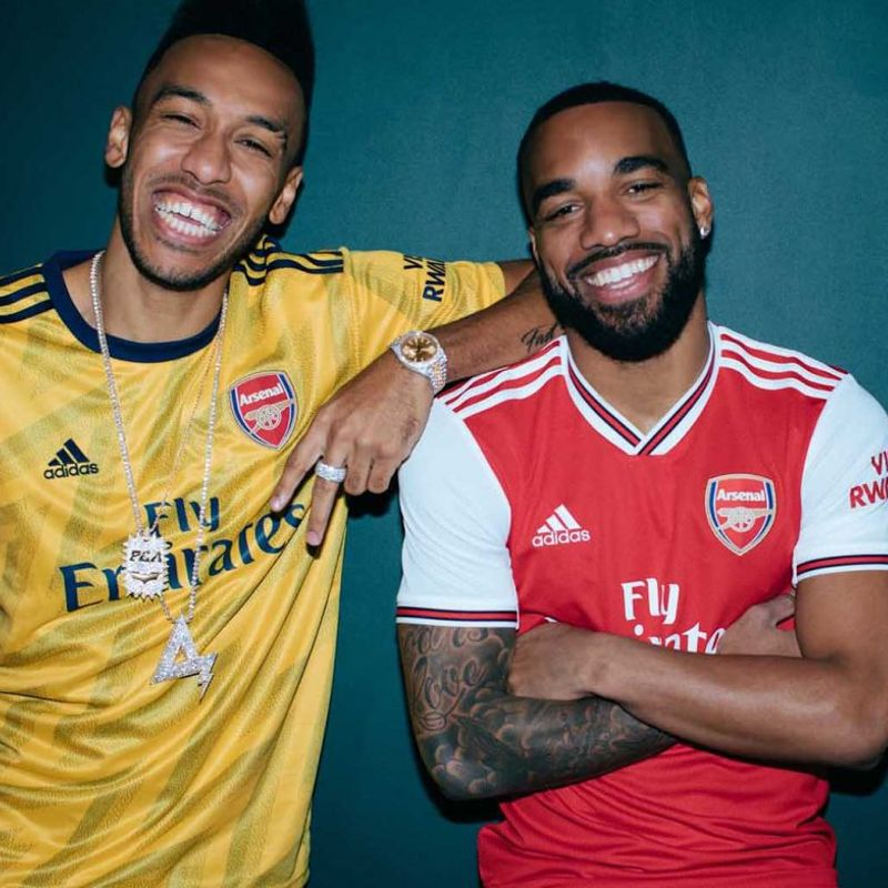 adidas lancia la maglia away 2019/20 dell'Arsenal retro ispirata