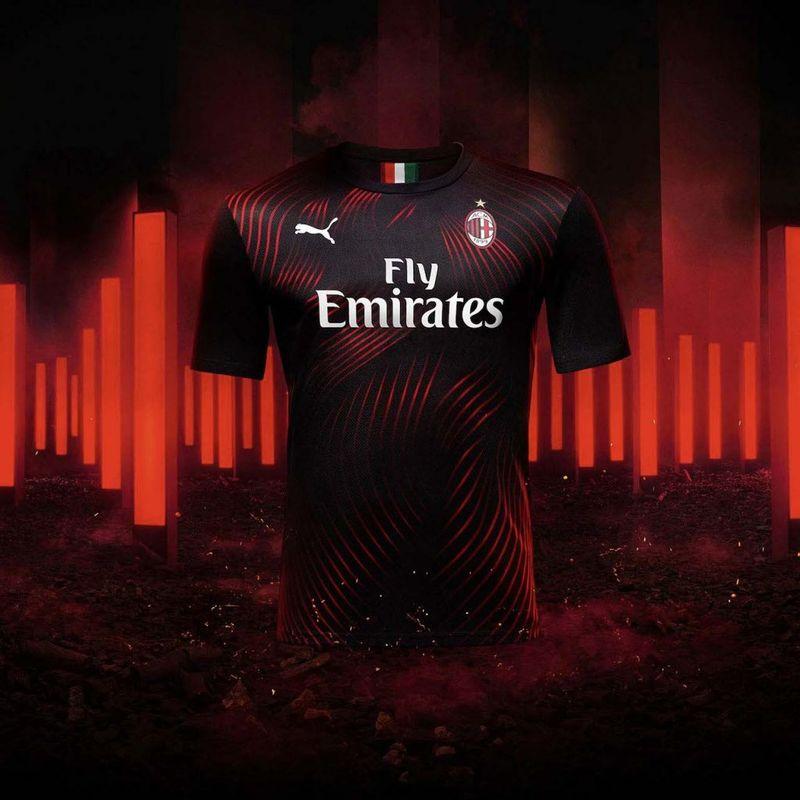PUMA lancia il terzo kit 2019/20 del Milan