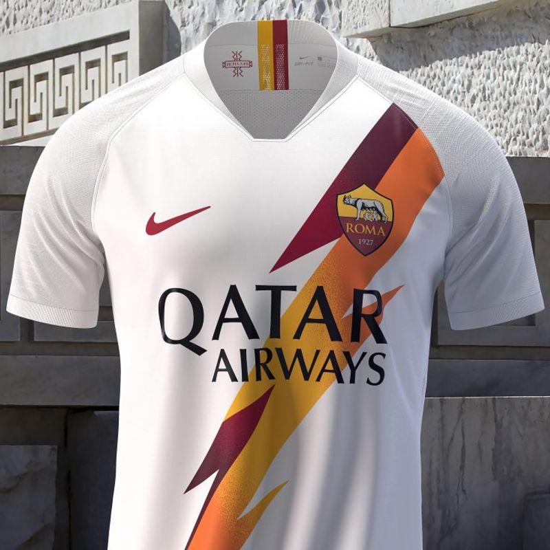 Nike lancia la maglia away 2019/20 della AS Roma