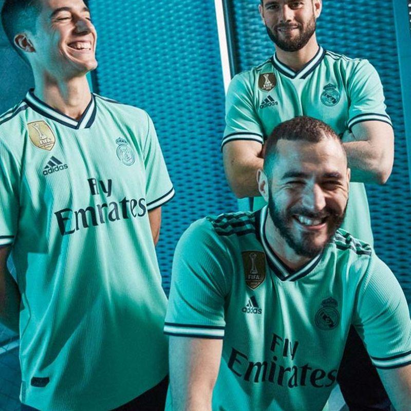 La terza maglia del Real è verde